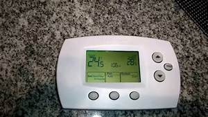 How To Change Advanced Settings For Honeywell Thermostat