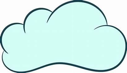Cloud Clouds Cartoon Transparent Clipart Onlygfx Format