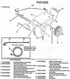 Campbell Hausfeld Pw1500 Pressure Washer Parts Repair Kits