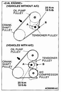 Mitsubishi Outlander Drive Belt Diagram