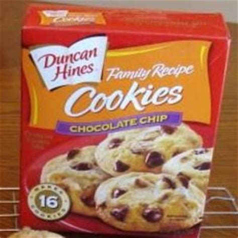 I was introduced to cake mix cookies in college, but no recipe i've ever used compares to this one. Duncan Hines Family Recipe Chocolate Chip Cookies 9 oz ...