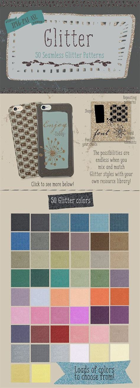 glitter pattern collection wedding card templates