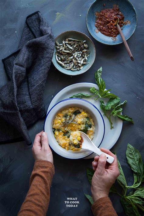 bubur manado tinutuan manadonese porridge   cook