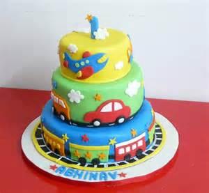 Train Birthday Cakes for Boys