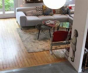 Parquet beton cire deco maison pinterest for Deco parquet plus