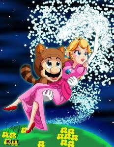 Mario and Peach deviantART