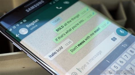 Whatsapp Text Formatting Rolls Out, Including Bold
