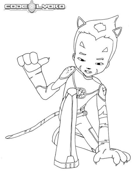 kids  funcom  coloring pages  code lyoko