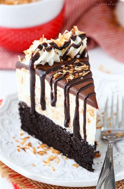 toasted coconut chocolate ice cream cake life love  sugar