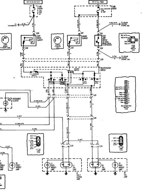 Wiring Diagram For 1984 Jeep Cj 7 by I A 83 Cj7 On The Fuse Block The Turn Is On Top