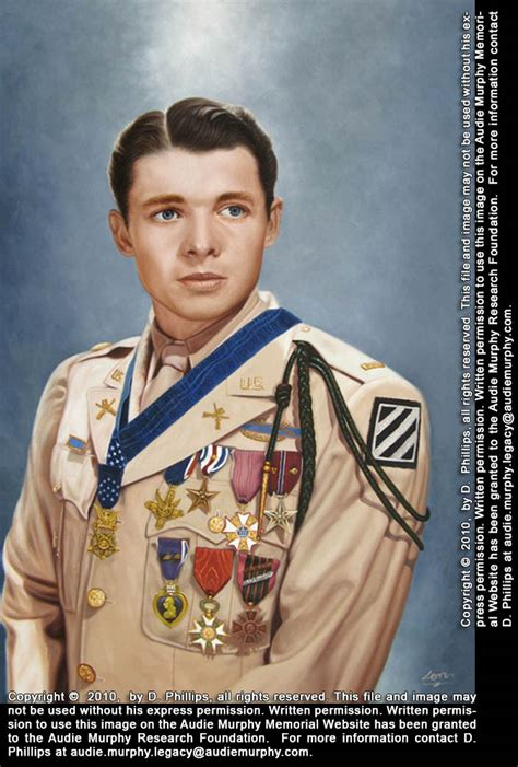 Most Decorated Soldier Of All Time by Newspaper Articles On Audie