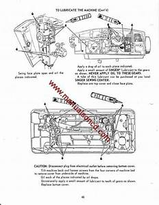 Singer 600 Deluxe Zigzag Sewing Machine Instruction Manual