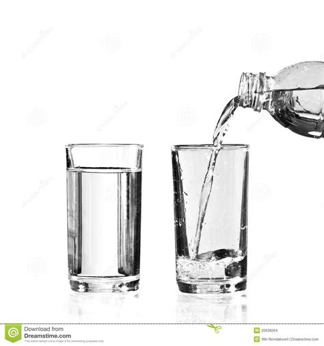 clear plans fill water stock photo image of freshness empty flowing