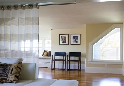 Hanging Curtain Room Divider Ideas by Room Divider Ideas To Beautify Your Home