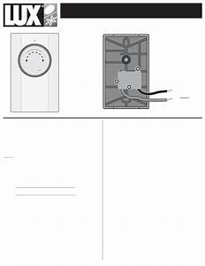 Lux Products Thermostat Lv11 User Guide
