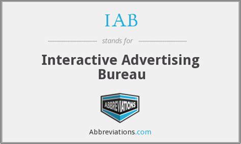 advertising bureau iab advertising bureau