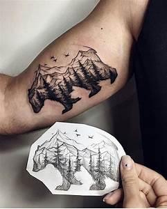 Tatouage Simple Homme : 1001 mod les de tatouage homme uniques et inspirants ~ Melissatoandfro.com Idées de Décoration