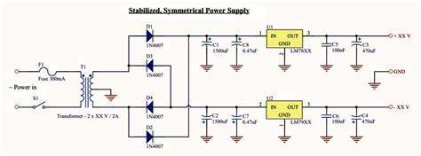 Basic Symmetrical Power Supply