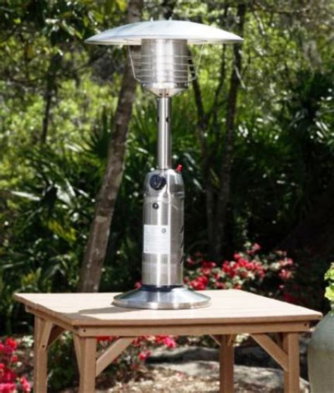 well traveled living 60262 stainless steel table top patio