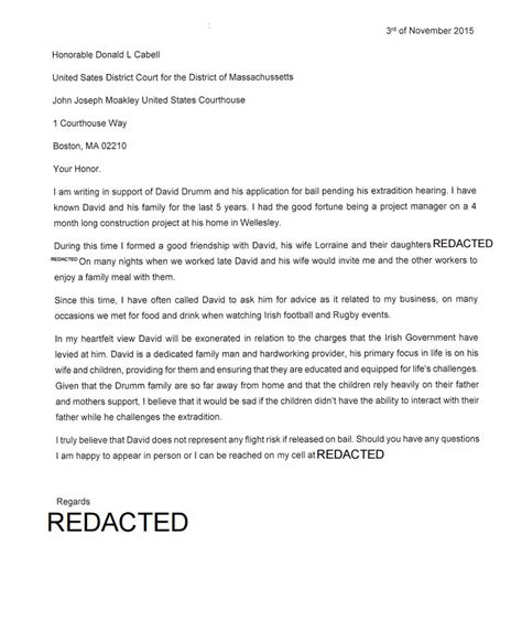 florida family cover letter construction workers were invited into drumm family home