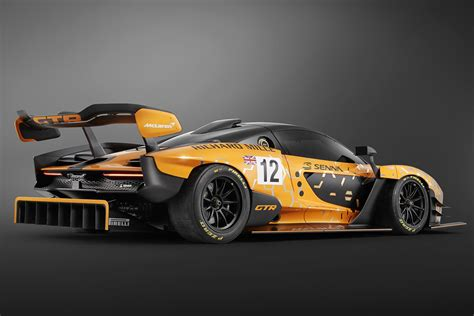 Mclaren Senna Gtr Concept Uncompromising Supercar Gets