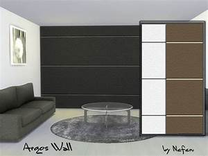 The sims resource argos wall by neferu downloads