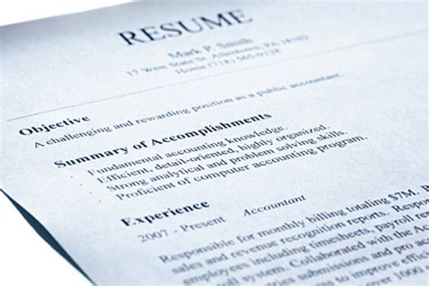 Spouse Resume by Make Your Skills Jump The Resume Page