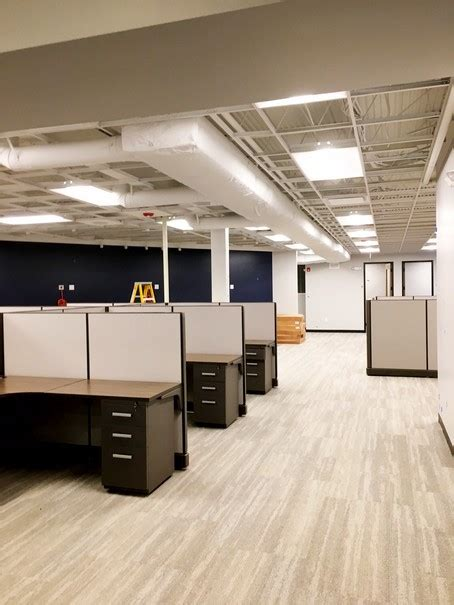renovation  office space installation   lighting