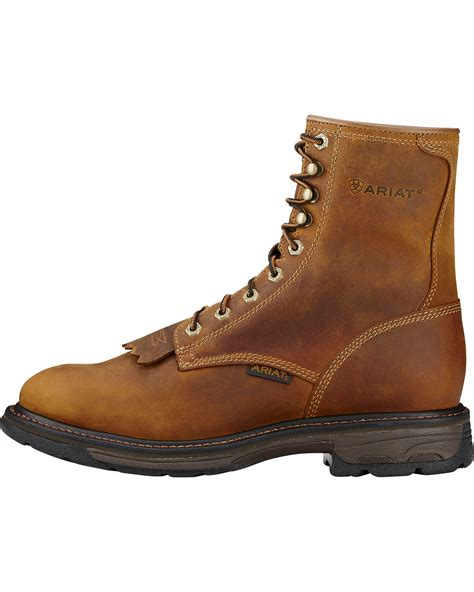boot barn work boots ariat s workhog 8 quot lace up composite work boots boot