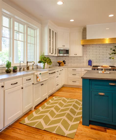 blue kitchen cabinet 20 gorgeous kitchen cabinet color ideas for every type of 1729