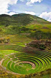 Images of Moray Inca Sacred Valley Peru