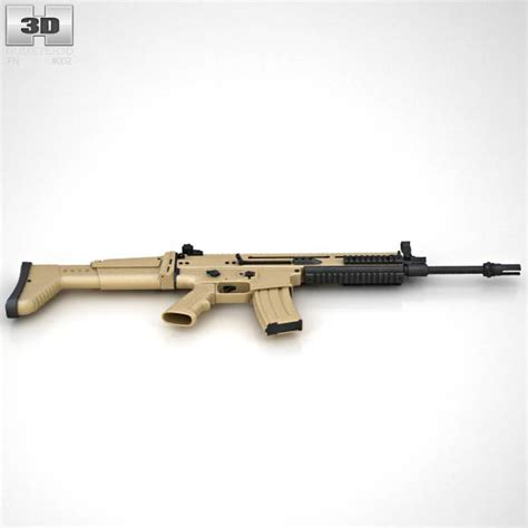 fillsta l 3d model fn scar l 3d model humster3d