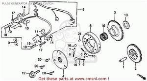 Big Image Of Pulse Generator    Starter Clutch Schematic