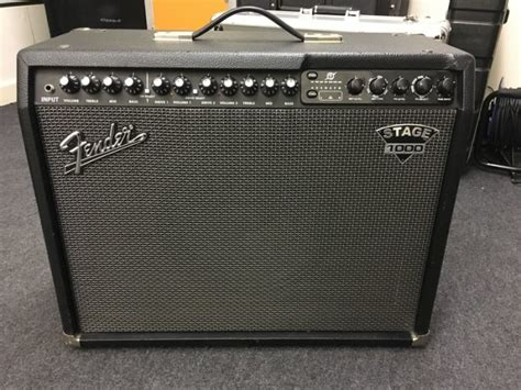 Fender Stage 1000 Guitar Combo Amp For Sale In Rathmines