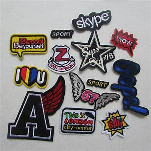 hot sale 16 kind select letter patch hot melt adhesive With letter patches for sale