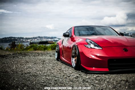 stanced nissan flawless execution joey gallardo 39 s nissan 370z