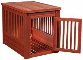 High quality small decorative dog crate cabinet for High end dog crates