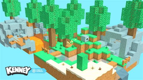 voxel pack opengameartorg