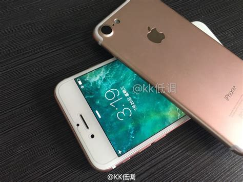 iphone 7 photos leaked photos show a real iphone 7 powered on for the