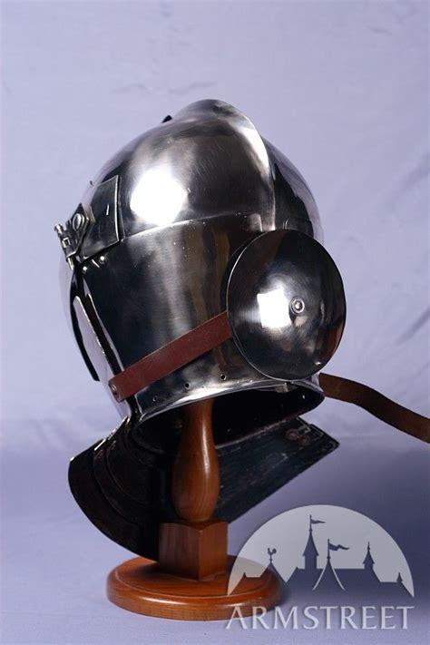 armet knight helmet  ga cold rolled mild steel