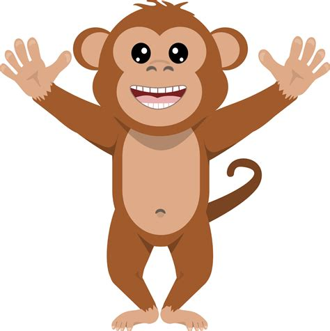 Monkey Clipart 100 Monkey Clip Black And White Images