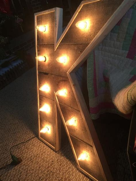 diy lighted pallet marquee letters pallet furniture plans