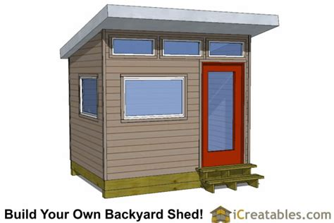 10 X 20 Modern Shed Plans by 8x10 Shed Plans Diy Storage Shed Plans Building A Shed