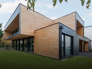 Maison Bois Contemporaine : maisons en bois massif design contemporain ou traditionnel ~ Preciouscoupons.com Idées de Décoration