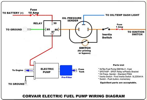 electric fuel wiring diagram