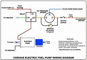 Mustang Fuel Pump Wiring Diagram