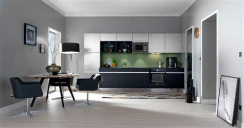 cuisine sur un pan de mur aménager sa cuisine en l en u en t avec ou sans îlot