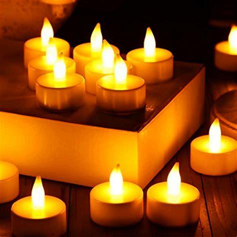 light candles 24pcs led tea light candles householed velas led Led