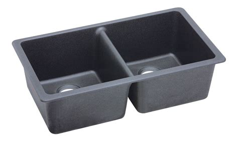 Elkay Granite Sinks Elgu3322 by Elkay Elgu3322gy0 Dusk Gray Gourmet 33 Quot Basin