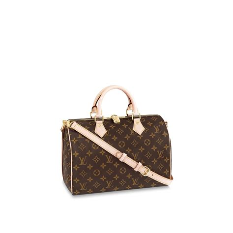 speedy bandouliere  monogram canvas handbags louis